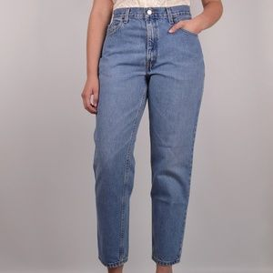 Levi's 550 Relaxed Tapered High Waist Mom Jeans